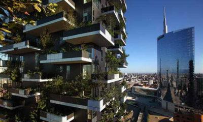 «Висячие сады» Милана. 8 чудо света