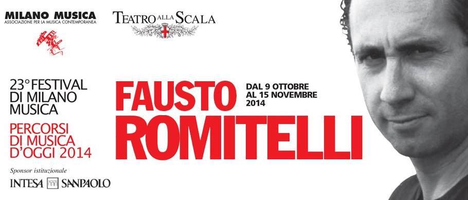 Fausto Romitelli - Что посетить в Милане. Неделя 46