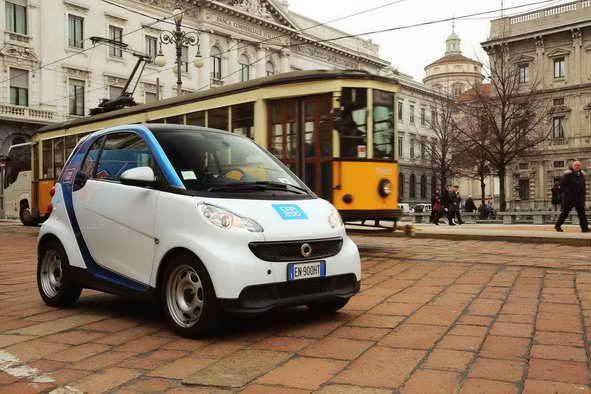 cars - На чём ездят в Милане? Car sharing обзор
