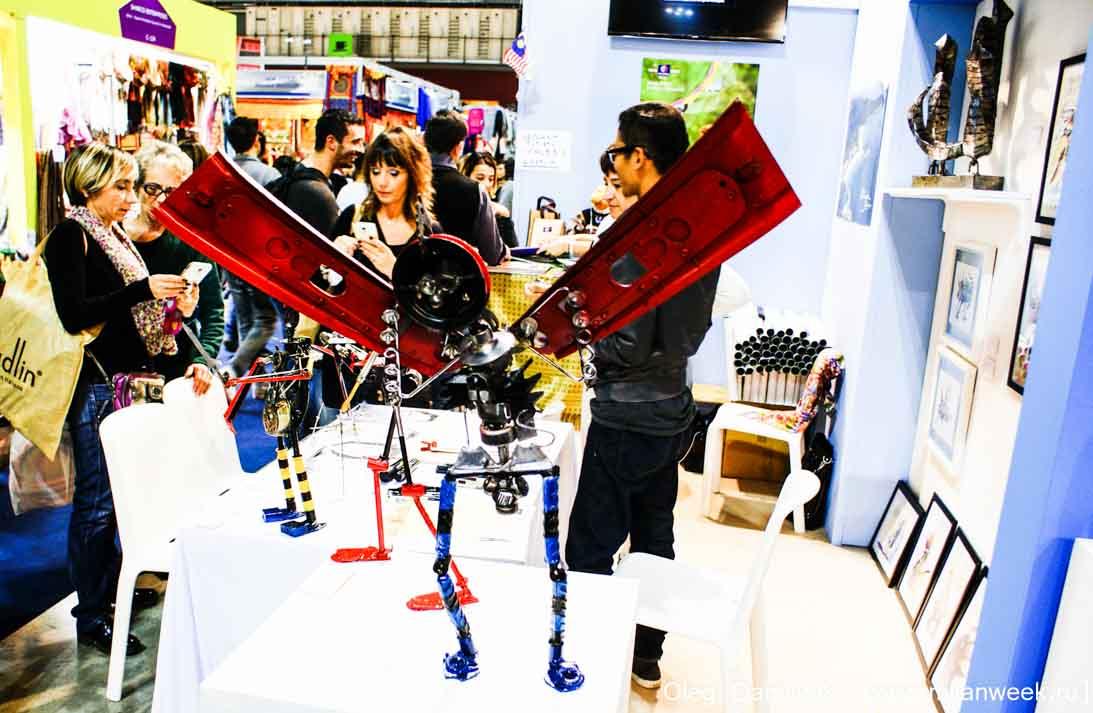 DSC08933 - L'Artigiano in Fiera 2014 - Ярмарка ручной работы в Милане