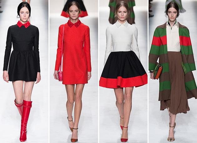 Gonne Valentino autunno inverno 2014 2015 - Валентино: история модного дома, секреты и новые коллекции