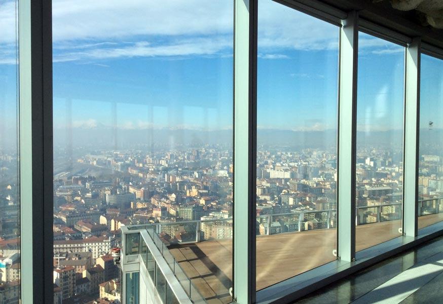 IMG 0535b - Панорама Милана с высоты 39 этажа
