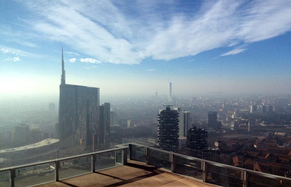 IMG 0561b - Панорама Милана с высоты 39 этажа