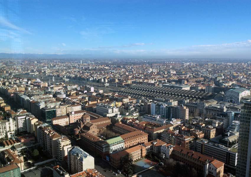 IMG 0777b - Панорама Милана с высоты 39 этажа