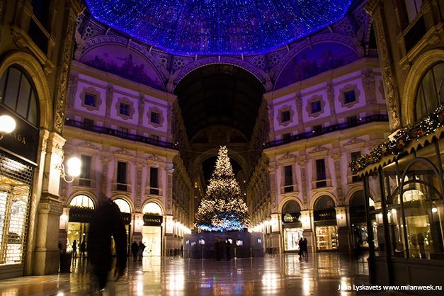 NY milanweek 03 - Новогодний Милан ночью