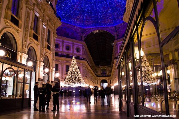 NY milanweek 04 - Новогодний Милан ночью