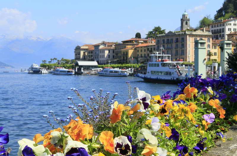 Bellagio Lake Como Italy - Озеро Комо в мировом кинематографе. Часть 1