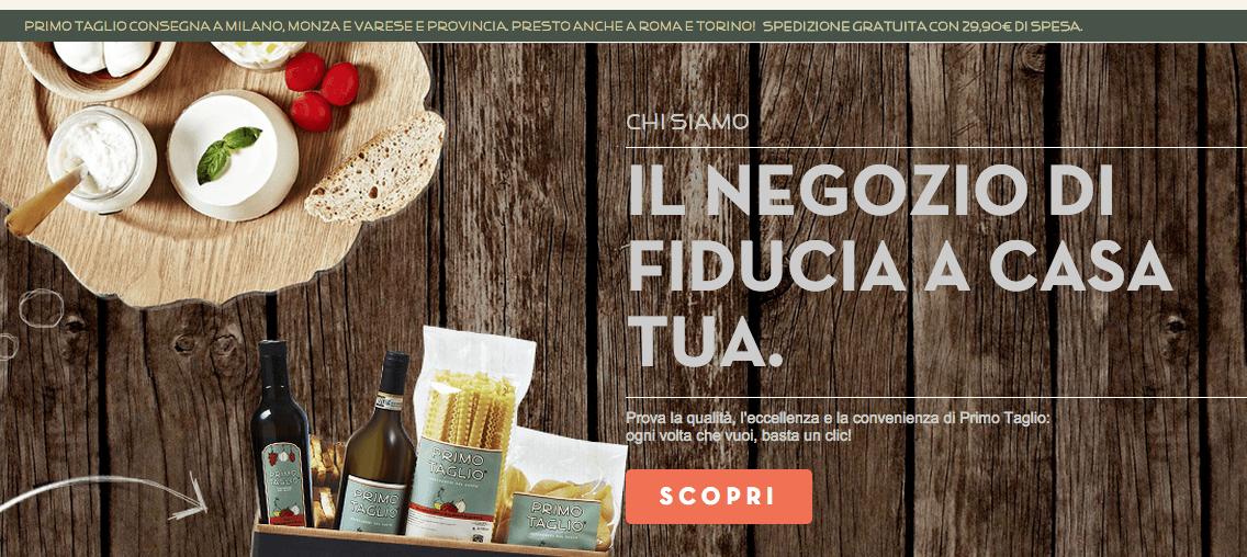 """Стартап воплощает идею """"Магазин, которому можно доверять""""©http://www.primotaglio.it"""