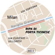 milan map - Что думает о Милане The New York Times?