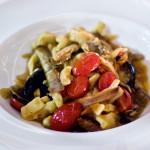 Linguina alla vongole veraci e bottarga 150x150 - Изысканные рыбные блюда в самом центре Милана
