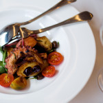 Polpo verace arrostito patate ratte pomodorini olive taggiasche basilico 150x150 - Изысканные рыбные блюда в самом центре Милана