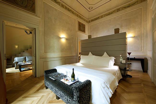 """hotel03 - Единственные в мире """"семь звезд"""" достались Миланской гостинице """"Seven Stars Galleria"""""""