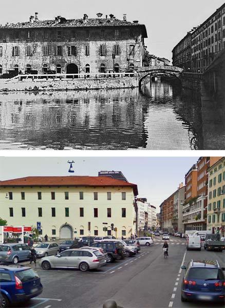 milano tombone san marco1 1 - Фото Милана: в начале прошлого века и сейчас