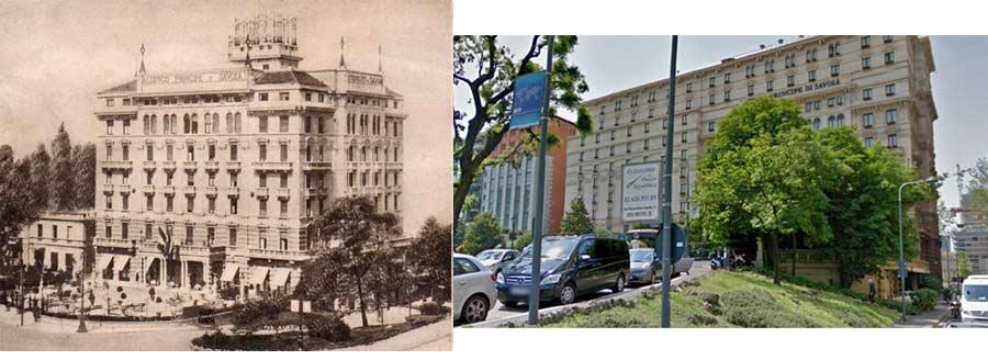 principe savoia1 - Фото Милана: в начале прошлого века и сейчас