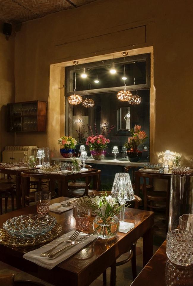 fioraio bianchi 14 2015 - Kartell и Fioraio Bianchi Caffè подготовились к праздникам
