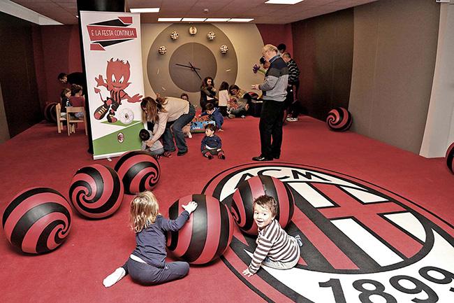 casamilan02 - ФК Милан открыл игровую комнату для детей