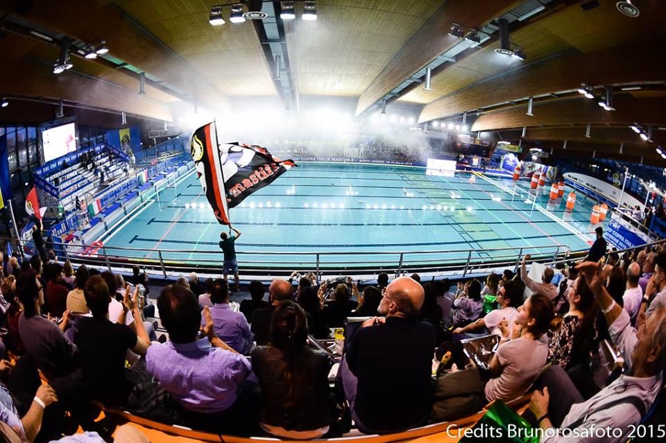 полуфинал AN Brescia и BPM Sport Management - Результаты финала четырёх Кубка Италии по водному поло