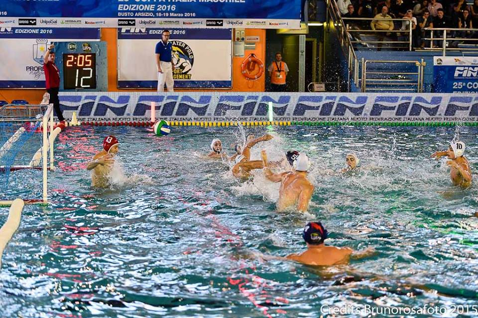 Италии BPM Sport Management против CC Napoli - Результаты финала четырёх Кубка Италии по водному поло