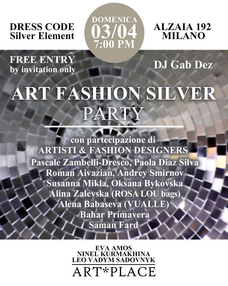 ART FASHION SILVER PARTY