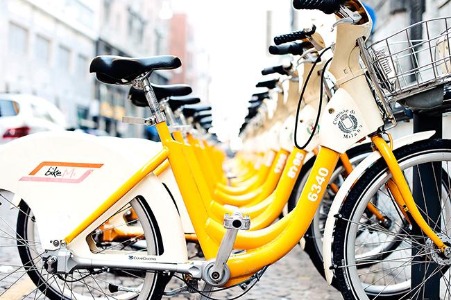bikemi01 - В Международный женский день Милан радует сюрпризами