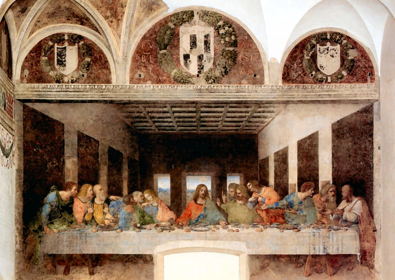 cenacolo - По следам Леонардо да Винчи в Милане