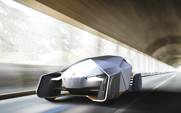 2016 QUATTRORUOTE - TRIENNALE XXI: Автомобиль будущего в Королевской Вилле Монцы