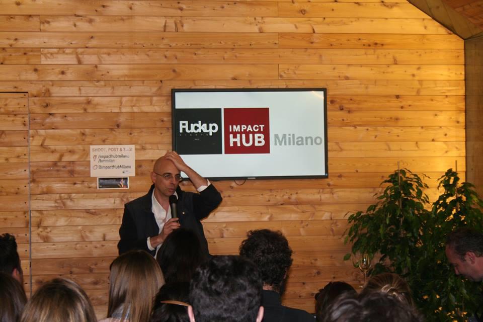 FuckUp Nights Milano Giovanni Covini - Уроки провалов от предпринимателей на FuckUp Nights Milan