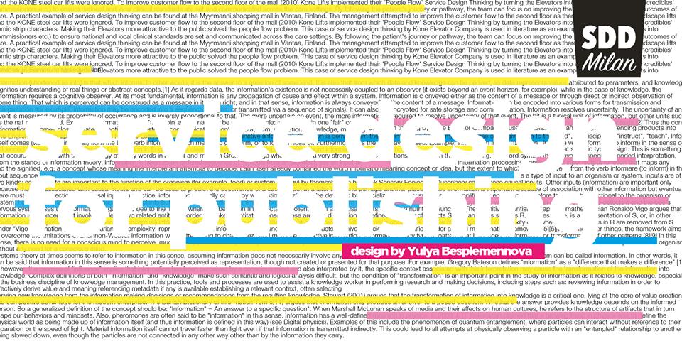 service design milan - Дайджест #1 событий для стартаперов 25 апреля - 1 мая