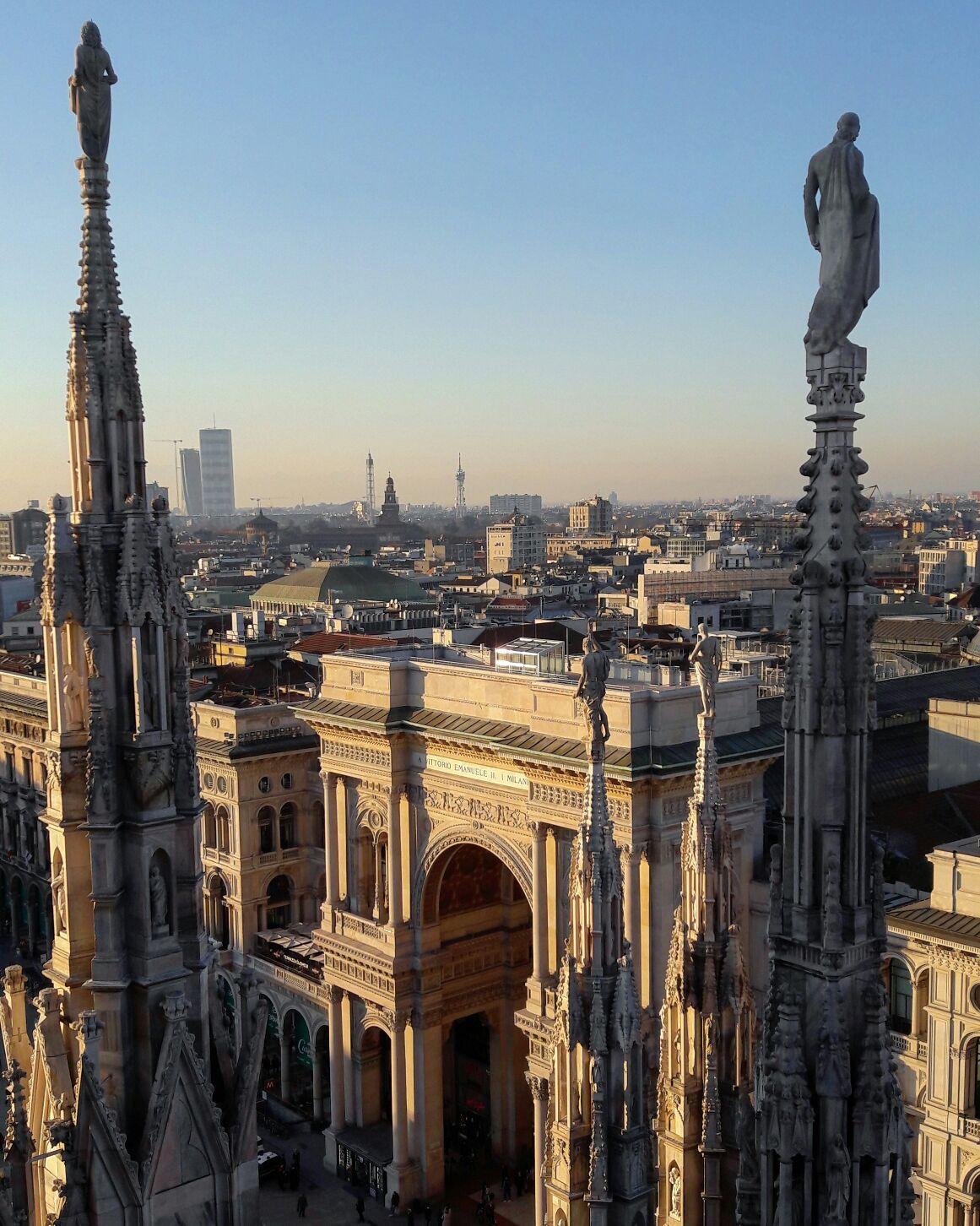 на галерею Витторио Эмануила - Взгляд на Милан в фотообъектив от Арины Карабановой