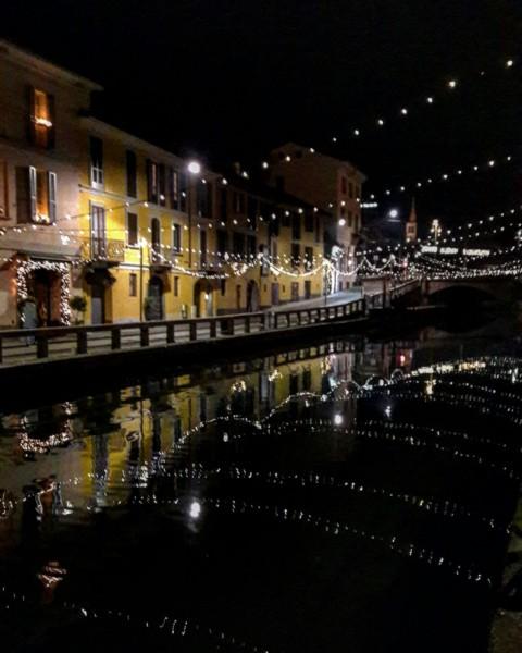 Вечерние навильи в Милане