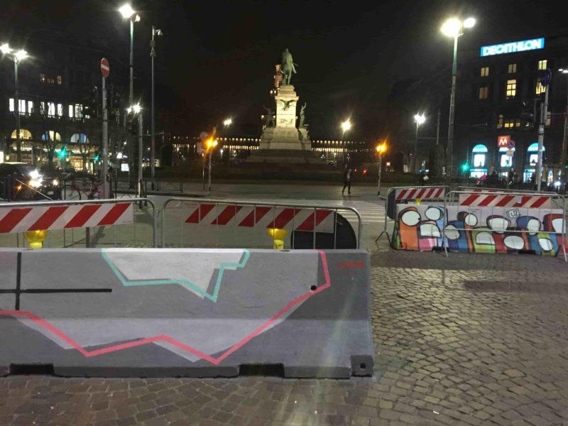 IMG 1743 min 800x600 - О, креативный Милан: ночная площадь Дуомо и граффити