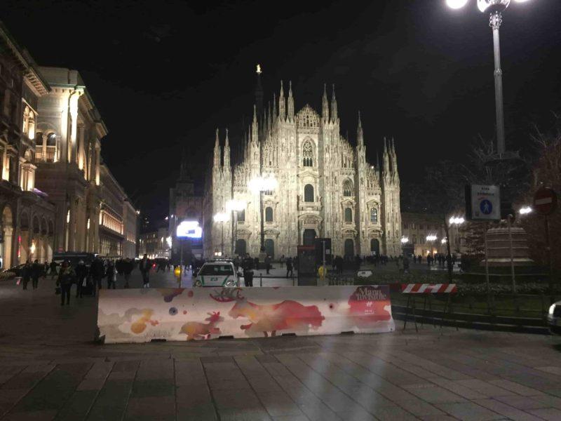 IMG 1745 min 800x600 - О, креативный Милан: ночная площадь Дуомо и граффити