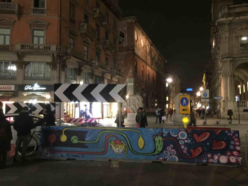 IMG 1746 min 800x600 - О, креативный Милан: ночная площадь Дуомо и граффити