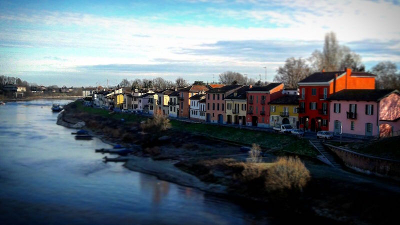 с моста Павия - Окрестности Милана за 2 дня