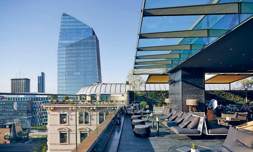 11 самых красивых террас Милана