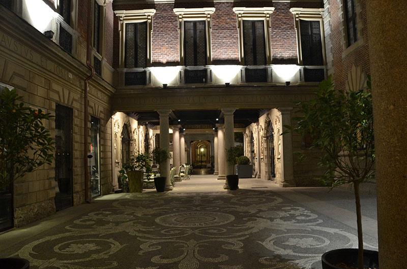 bagatti valsecchi foto5 - Ускользающая красота: дворики Милана
