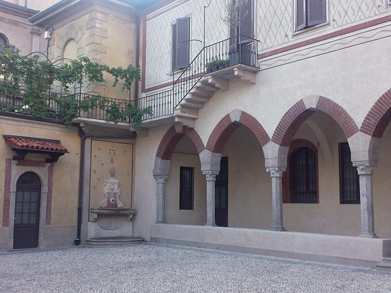 via Luini - Ускользающая красота: дворики Милана
