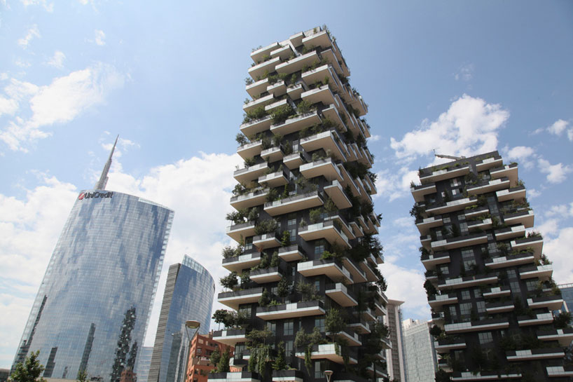 bosco verticale vertical forest stefano boeri studio milan designboom 012 - «Висячие сады» Милана. 8 чудо света