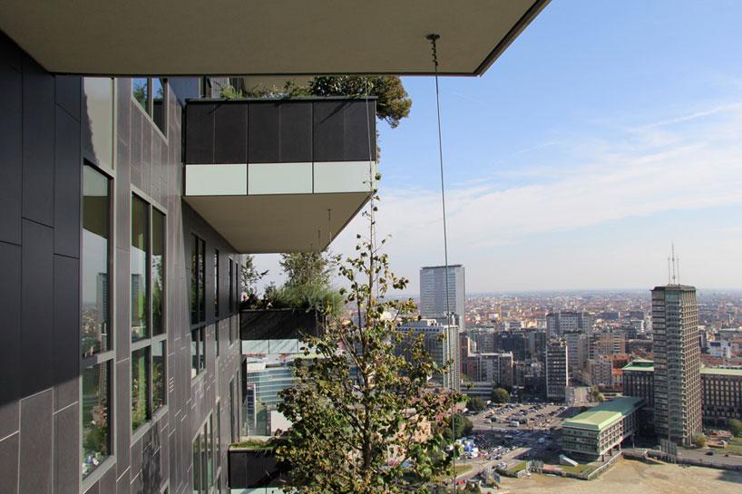bosco verticale vertical forest stefano boeri studio milan designboom 041 - «Висячие сады» Милана. 8 чудо света