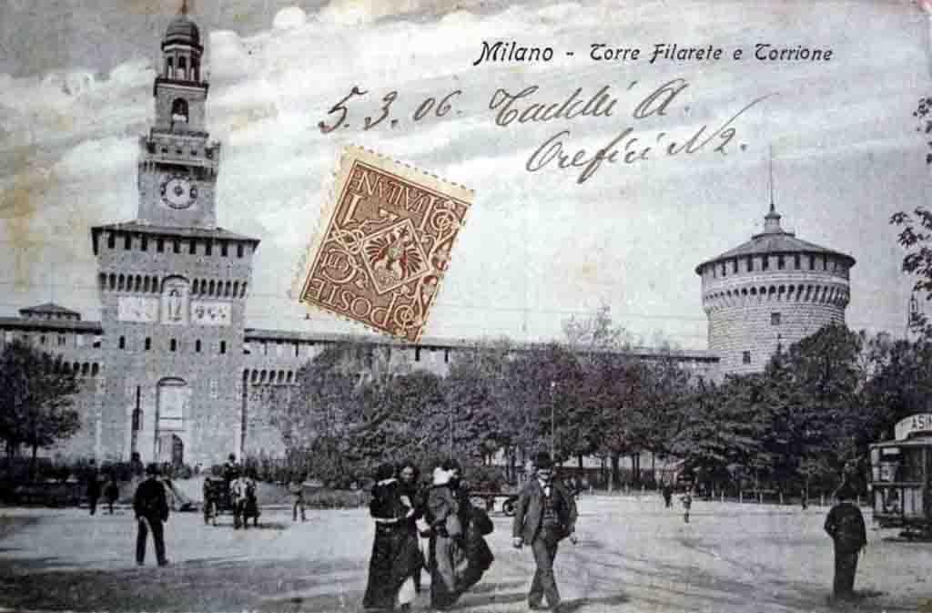 PiazzaCastelloCirca1905 2 1024x673 - Expo 2015 - Перевоплощение площади Кастелло