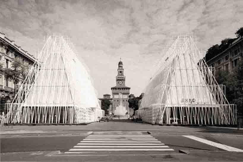 expogates1 - Expo 2015 - Перевоплощение площади Кастелло