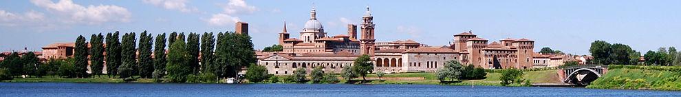 Mantova banner 2 - Город на искусственном полуострове . Объект ЮНЕСКО - Мантуя
