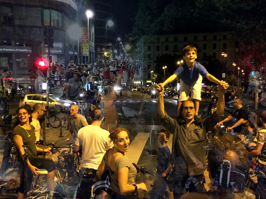 alessandromarianacar com - Critical Mass Milano. Эксклюзивный видеорепортаж