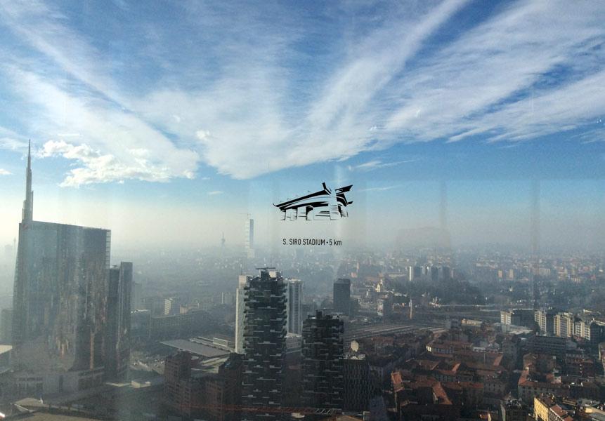 IMG 0536b - Панорама Милана с высоты 39 этажа