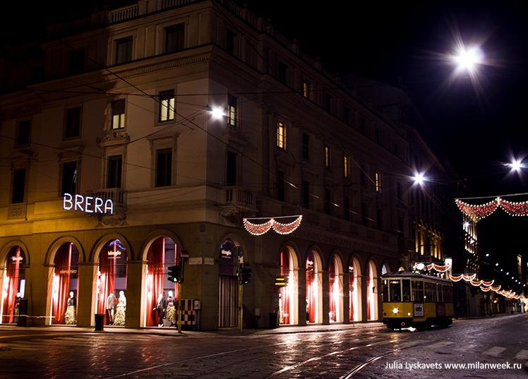 NY milanweek 02 - Новогодний Милан ночью