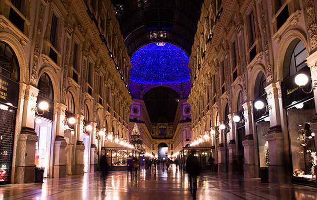 milannewyear - Новогодний Милан ночью