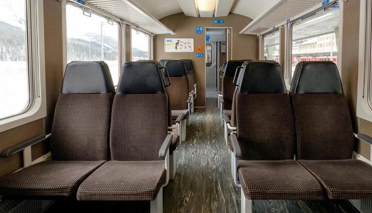класс Trenino di Bernina - Bernina Express или красный швейцарский поезд