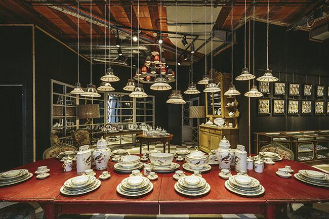ginori01 - 7 запоминающихся выставок Мебельного Салона 2015