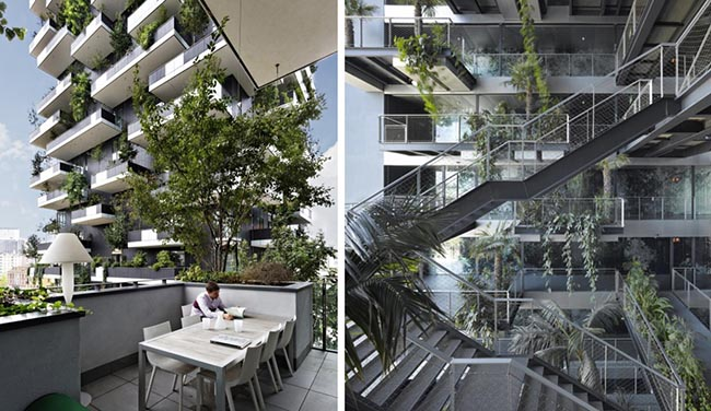 Azure 7 green milestones bosco verticale - Alessandro Romeo Architetto: Архитектура сегодня в поиске новых перспектив