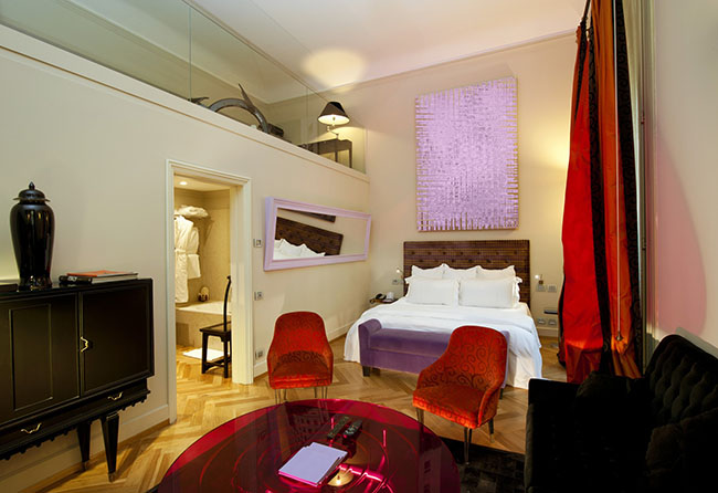 Другой тип апартаментов внутри отеля.